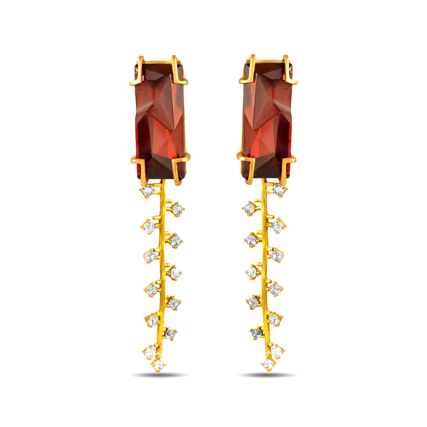 Fulgor Zip Earrings