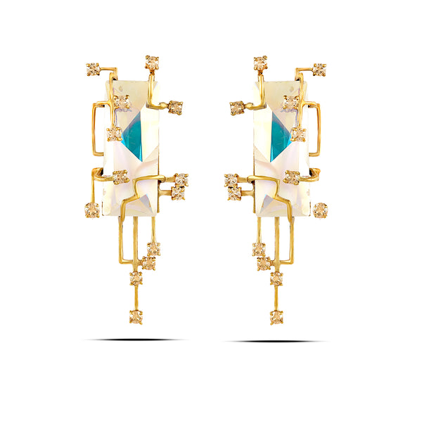 Scintillate Statement Earrings