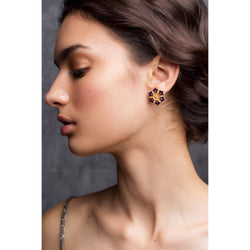 Touch of Petal Stud Earrings