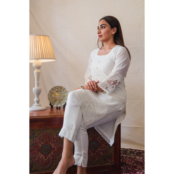 Off-White Holly Kurta Set