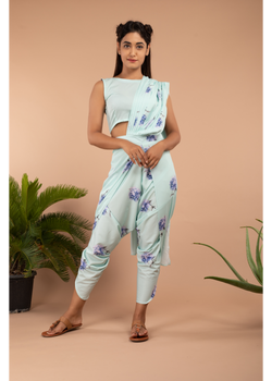Floral Finesse Aviary Blue Fusion Set