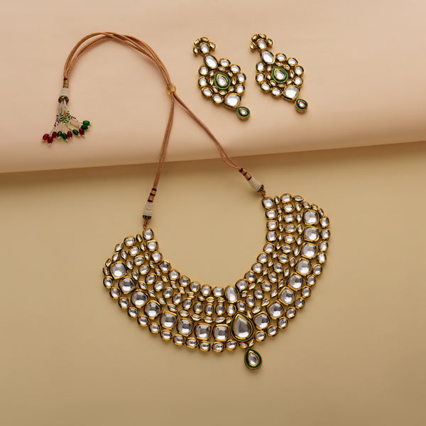 Traditional Kundan Bridal Set