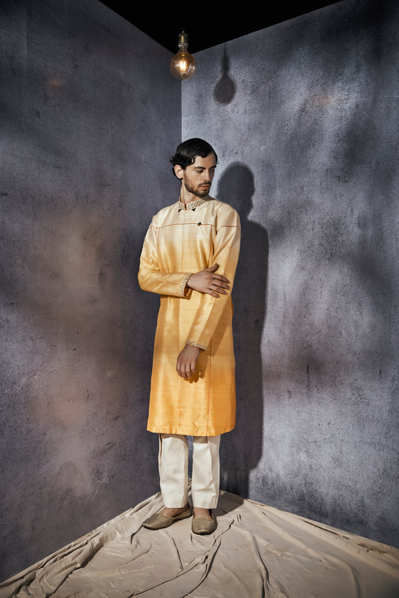 Vincent Formal Kurta - Linen Pants