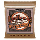Ernie Ball Earthwood Phosphor Extra Light 10-50