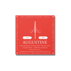 Augustine Red Medium Tension Set