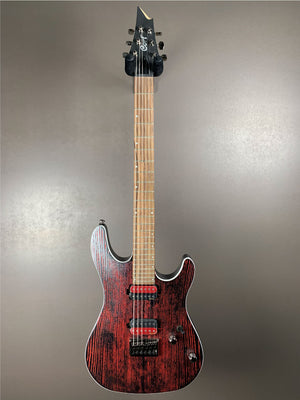 Cort KX5300 Etched Black Red