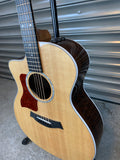 Left Handed Taylor 214-ce-CF DLX