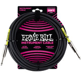 Ernie Ball 20FT Instrument cable Straight to Straight