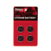 D'Addario Lithium Battery, 4-pack
