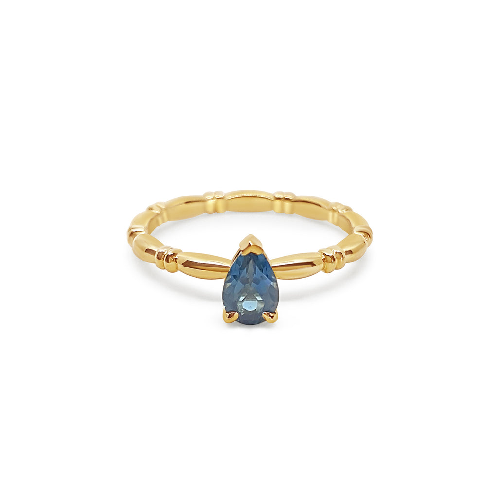 Anne - London Blue Topaz