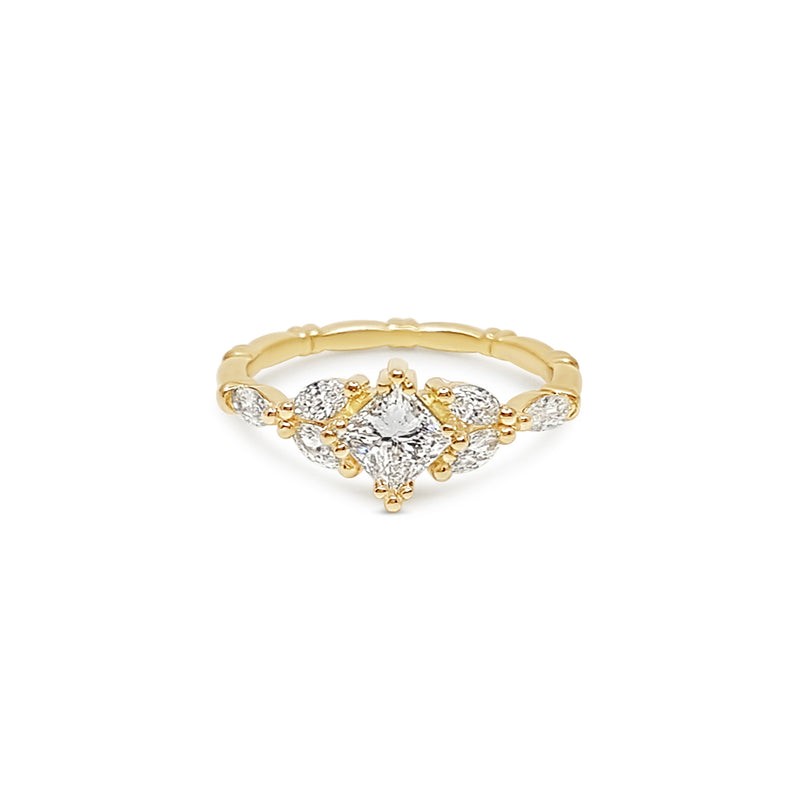 Anne - Princess Cut Diamond