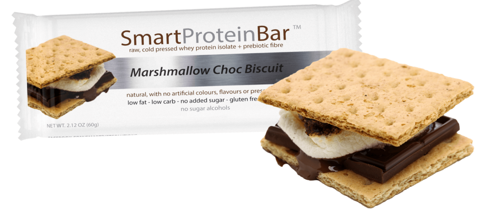 Marshmallow Choc Biscuit Smart Protein Bar