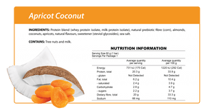 Apricot Coconut Protein Bar
