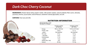 Dark Choc Cherry Coconut Smart Protein Bar