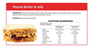 Peanut Butter & Jelly Smart Protein Bar
