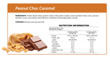 Load image into Gallery viewer, Peanut Choc Caramel Smart Protein Bar