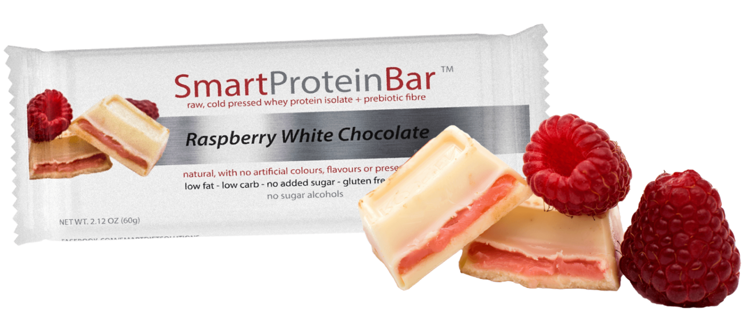 Raspberry White Chocolate Protein Bar