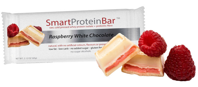 Raspberry White Chocolate Smart Protein Bar
