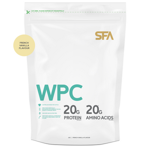 Whey Protein Concentrate WPC Vanilla Protein Powder 蛋白粉