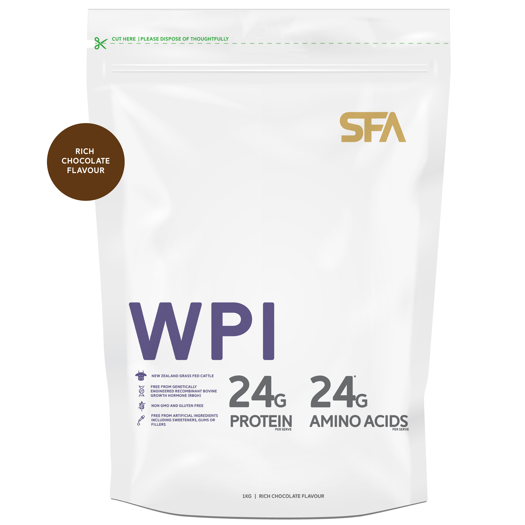 WPI - Whey Protein Isolate Flavours
