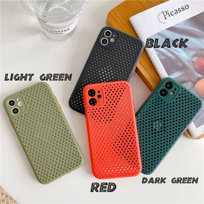 Breathable Case Protector Cover For iPhone
