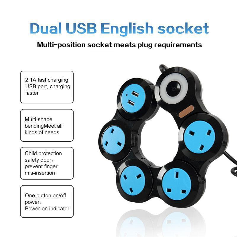 Multi-function USB Charging Strip