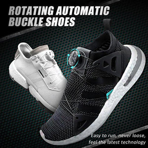 Rotating Automatic Buckle Shoes