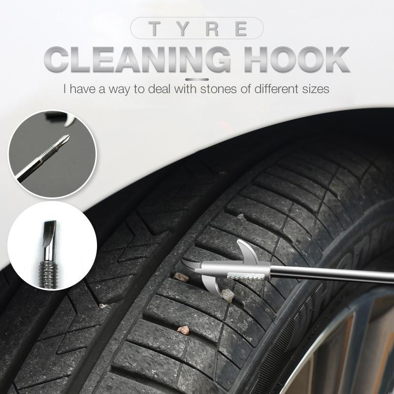 Tyre Cleaning Hook ( BUY MORE SAVE MORE )