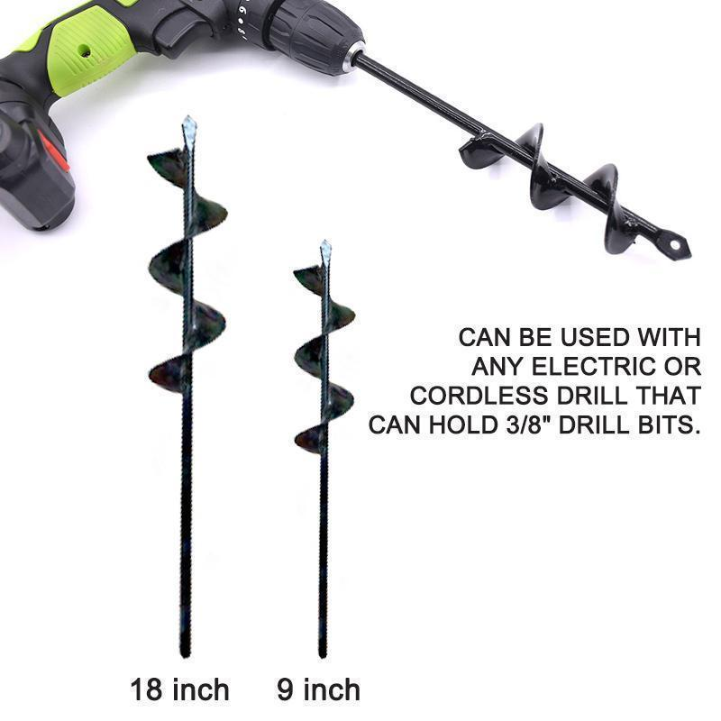 【TIME-LIMITED SPECIAL PROMOTIONAL PRICES】Spiral Hole Drill Planting & Grass Plug Auger