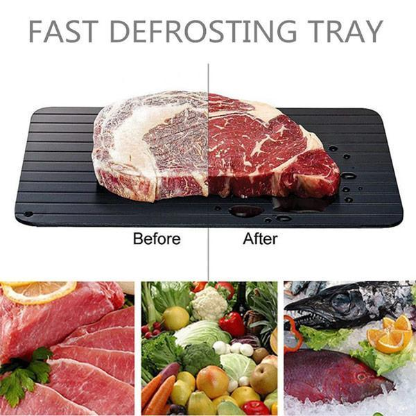 Rapid Thaw Defrosting Tray