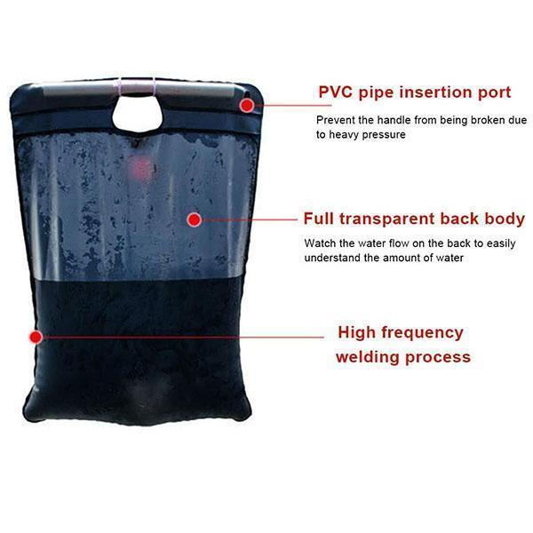 Portable Camping Solar Shower Bag