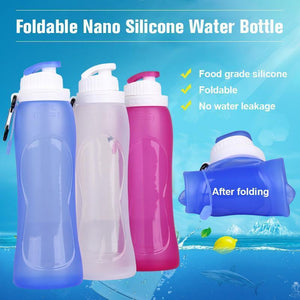 Foldable Nano Silicone Water Bottle