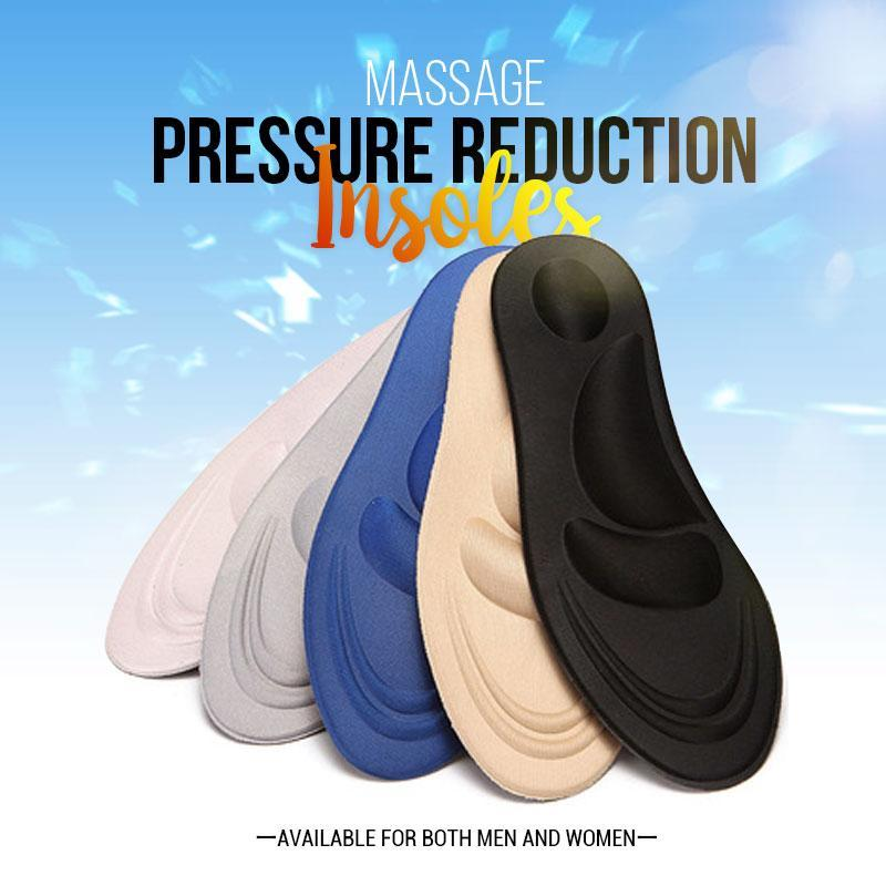 (Christmas special price)Massage Pressure Reduction Insoles