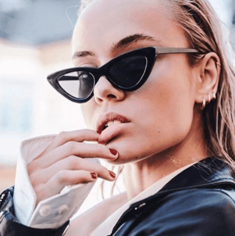 The Black Katie Sunglasses