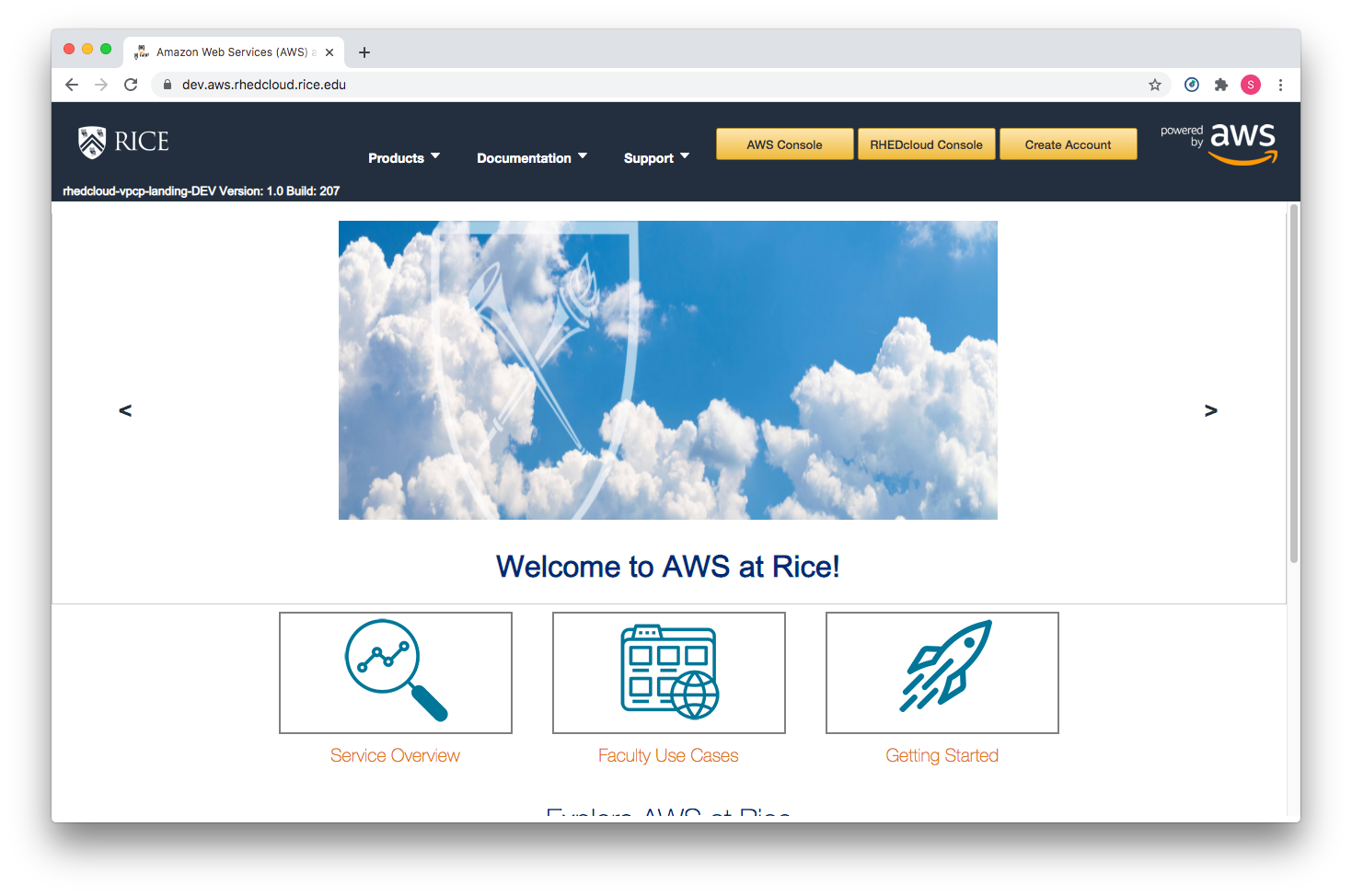 Rice University Implements RHEDcloud for AWS Proof-of-Concept