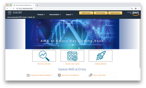 Emory Launches AWS at Emory