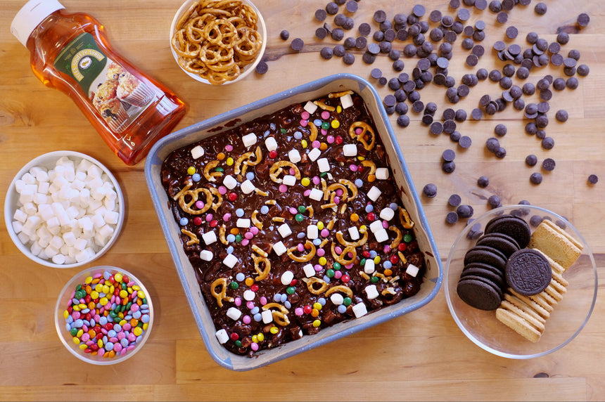 No-Bake Lockdown Fridge Cake