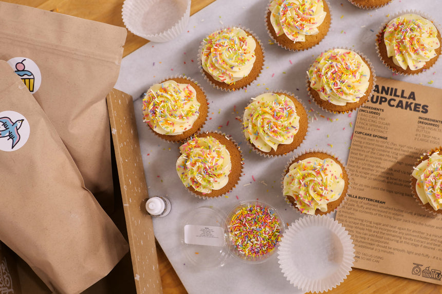 Bake At Home Vanilla Cupcakes