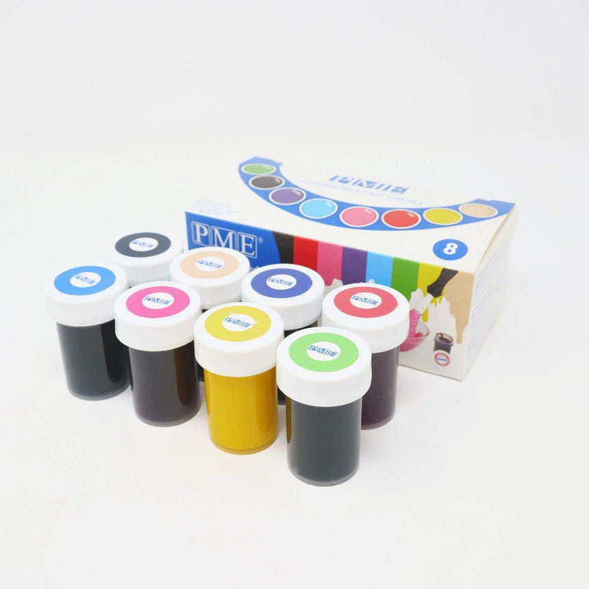 Concentrated Food Colouring Paste Set