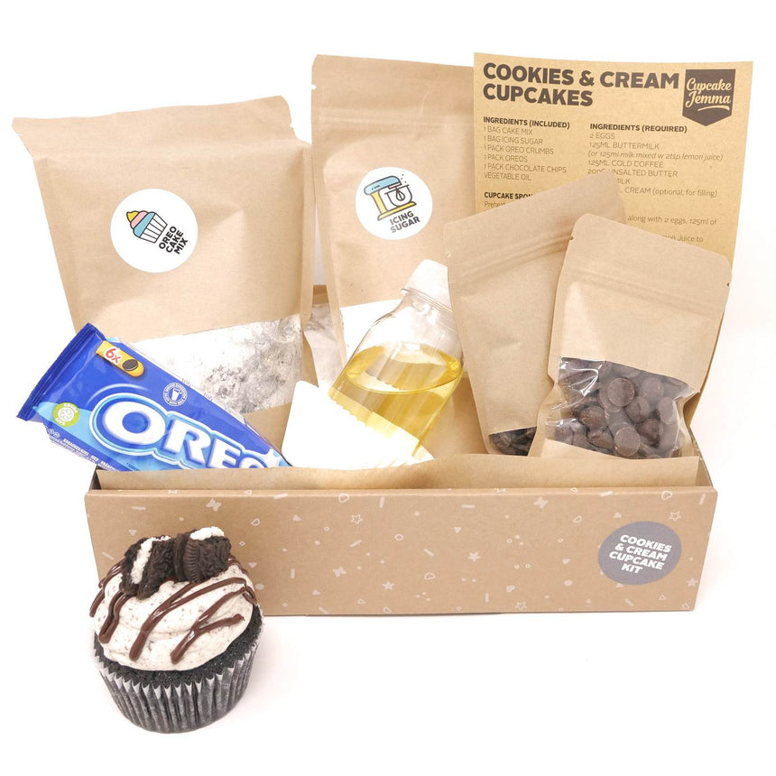 Cookies & Cream Oreo Cupcake Baking Kit
