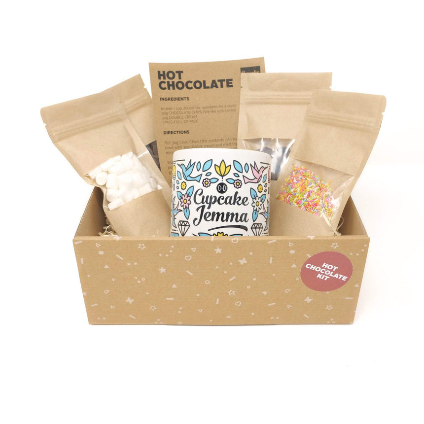Cupcake Jemma Hot Chocolate Set