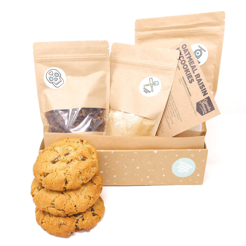 Oatmeal Raisin New York Cookie Kit