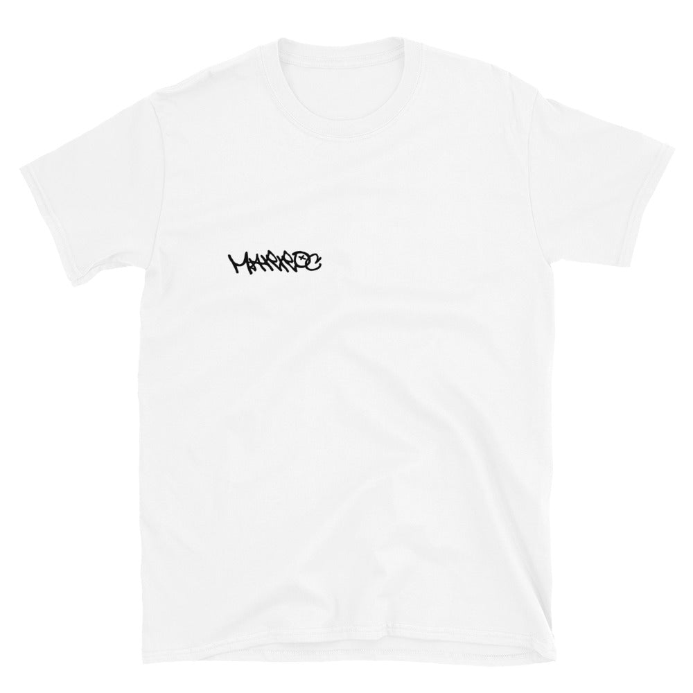 Collage tee - White - Marroc