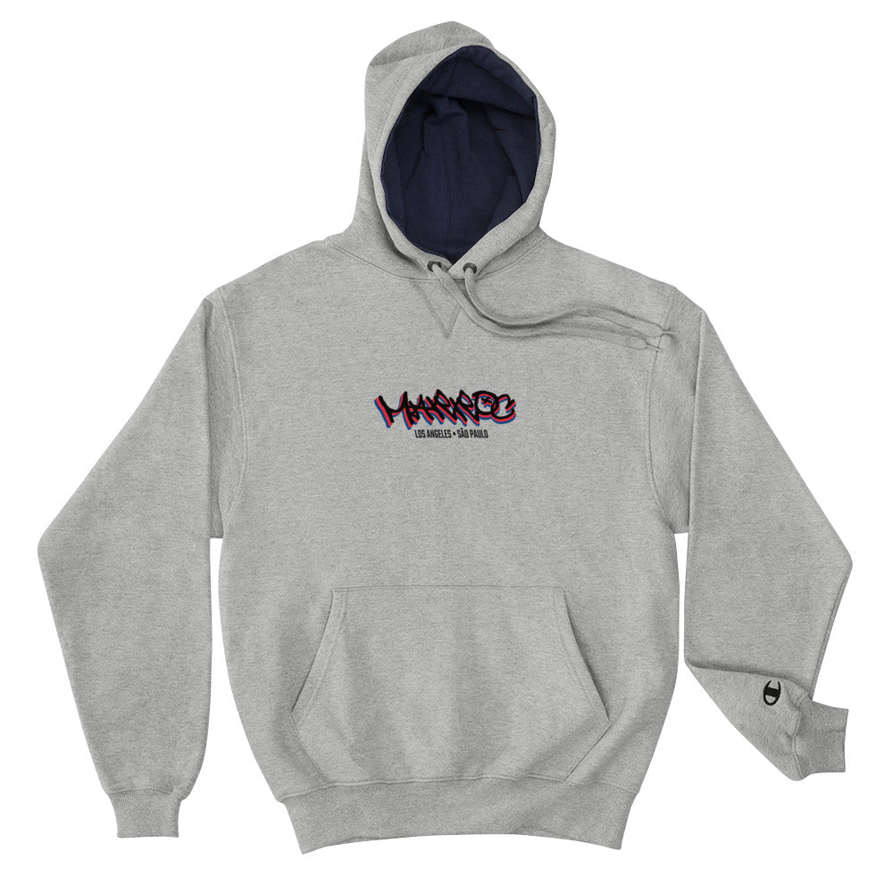 "Champion ""Home?"" Hoodie - Grey - Marroc"