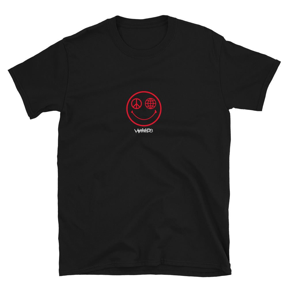 Smiley tee - Black - Marroc