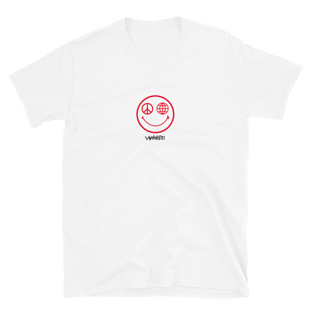 Smiley tee - White - Marroc