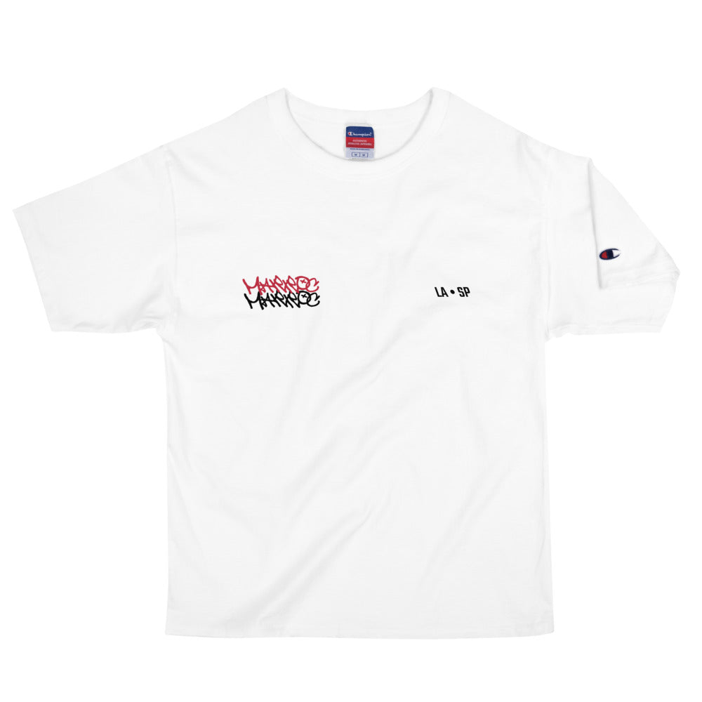 "Champion ""Home?"" Tee - White - Marroc"