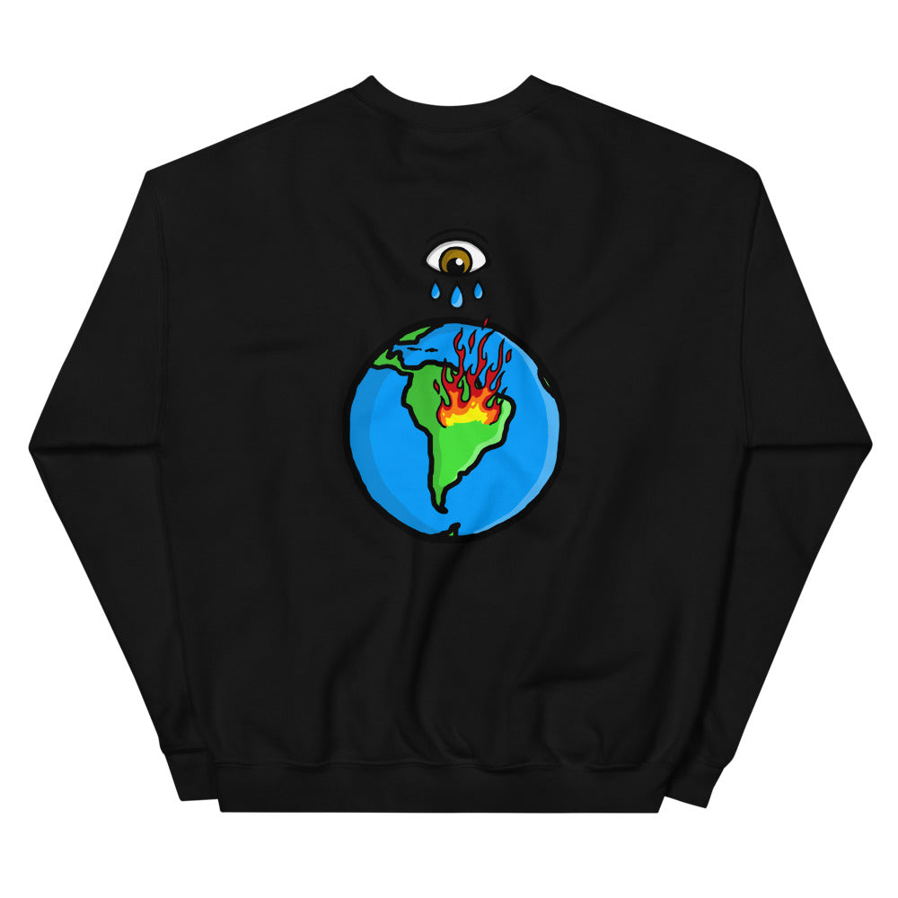 """Tears Aren't Enough"" Amazon Crewneck - Black - Marroc"