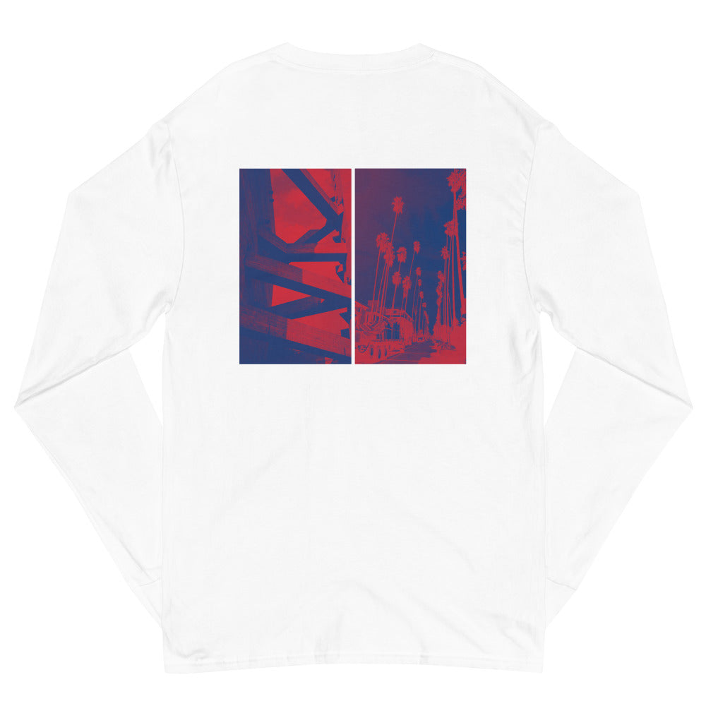 "Champion ""Home?"" Long Sleeve - White - Marroc"