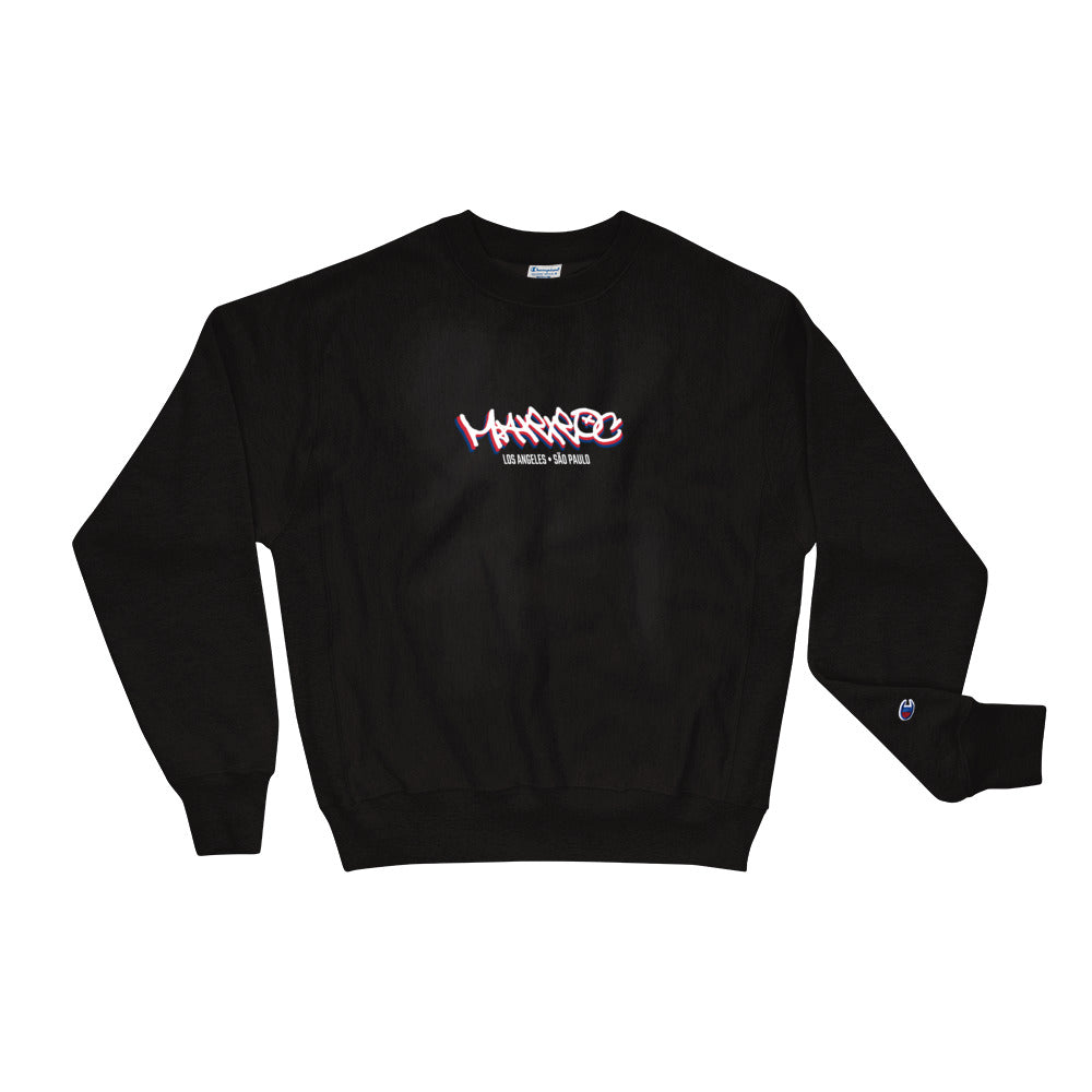 "Champion ""Home?"" Crewneck - Navy/Black - Marroc"